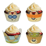 Those cupcakes look delicious already, but adding one of these Woodland Friends Cupcake Wrappers will surely make them even more tantalizing. Besides matching the rest of the Woodland Friends decor, giving each cupcake a face is just about the cutest idea