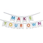 Create your own message in style with this Letter Streamer Kit.