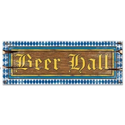 Oktoberfest Beer Hall Cutout
