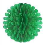 Green Tissue Flutter Ball, 9 Inches