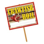 Crawfish Yard Sign