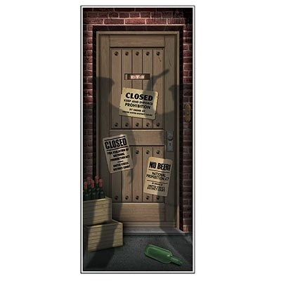 Larger Photo ...  sc 1 st  Party Cheap & Speakeasy Door Cover - Partycheap