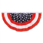 Stars & Stripes Fabric Bunting (4 feet)