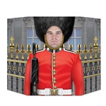 Party goers will stand to attention for a chance to snap a picture with this Royal Guard Photo Prop.  Perfect for an English-themed party or event, bring a bit of London to your next party!