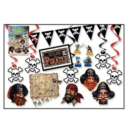 Pirate Party Kit (16/pkg)