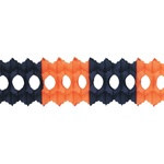 Orange and Black Arcade Garland