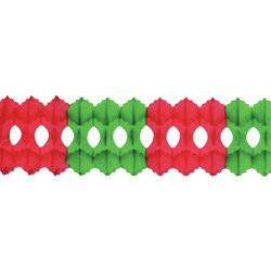 Red and Green Arcade Garland