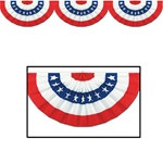 Jointed Red, White, and Blue Bunting Cutout