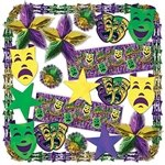 Mardi Gras Metallic Decorating Kit
