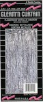 Silver 2-Ply Gleam N Curtain™ Metallic Curtain
