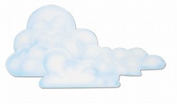 Cloud Cutout, 29 inches (1/pkg)