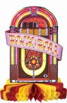 Rock And Roll Juke Box Centerpiece
