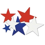 Patriotic Star Cutouts (9/pkg)