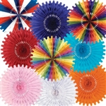 25 inch Art-Tissue Fan - Please select color