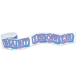 Baby Shower Crepe Streamer