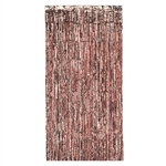This easily hung Gleam 'N Curtain in Rose Gold, is easy to hang, and requires no assembly.  An easy way to add a beautiful shine and shimmer to your venue.