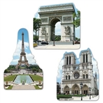 French Cutouts (3/pkg)