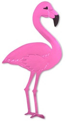 Pink Flamingo Silhouette