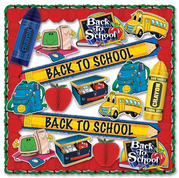 Back To School Classroom Decorating Kit Partycheap