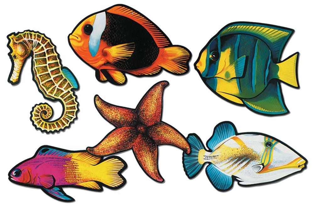 fish cutouts