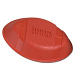 Plastic Football Snack Tray