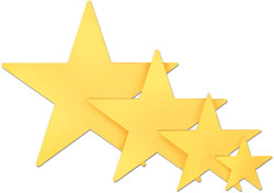 Gold Foil Star (5 inch)