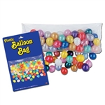 Balloon Bag with Balloons