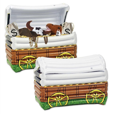 Inflatable Chuck Wagon Cooler
