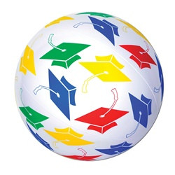 Inflatable Grad Beach Ball
