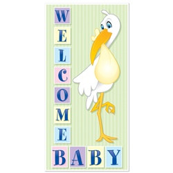 Welcome Baby Door Cover
