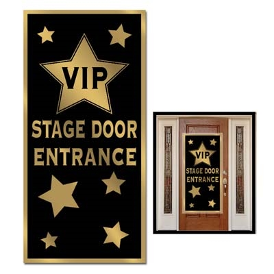 vip stage door entrance door cover - Hollywood Party Decorations