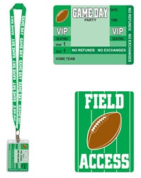 Game Day Party Pass
