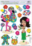 Hula Baby Peel N Place (14/sheet)