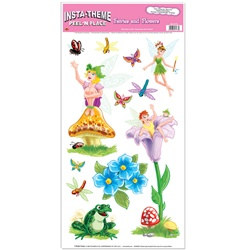 Fairies and Flowers Peel N Place