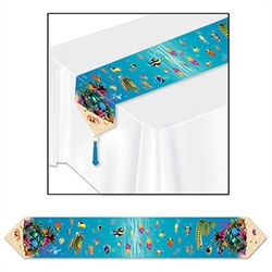 Printed Under The Sea Table Runner