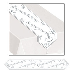 Printed Congratulations Table Runner