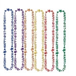 21st Birthday Beads (1/Pkg)