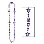 "Purple ""Class Of 2013"" Beads-Of-Expression"