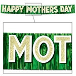 Metallic Happy Mother's Day Banner