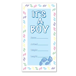 It's A Boy Door Cover