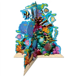 3-D Coral Reef Centerpiece