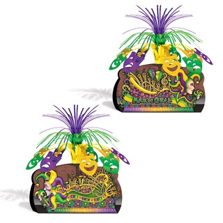 Mardi Gras Float Centerpiece