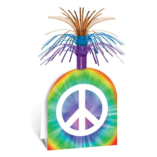 Peace Sign Centerpiece
