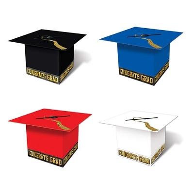 Graduation Cap Card Box Choose Color Partycheap
