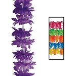 Assorted Silk N Petals Island Punch Leis (1/pkg)