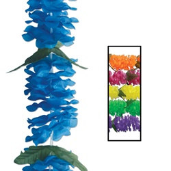 Assorted Silk N Petals Big Island Leis (1/pkg)