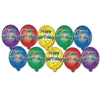 Mini Happy Birthday Cutouts (10/pkg)