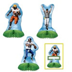 Football Playmates (4/pkg)