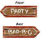 Redneck Party Sign
