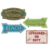 Beach Sign Cutouts